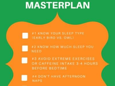 Sleep appetite masterplan